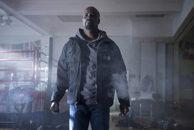 "Mike Colter stars in ""Luke Cage."" Myles Aronowitz/Netflix"