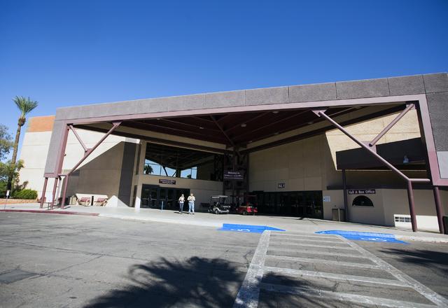 Cashman Center, 850 Las Vegas Blvd, North, is seen Monday, Sept. 26, 2016. Jeff Scheid/Las Vegas Review-Journal Follow @jeffscheid