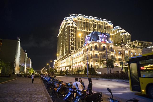 The Parisian Macau hotel-casino in Macau is seen on Saturday, Sept. 10, 2016. The Parisian resort is set to open Tuesday. Erik Verduzco/Las Vegas Review-Journal Follow @Erik_Verduzco