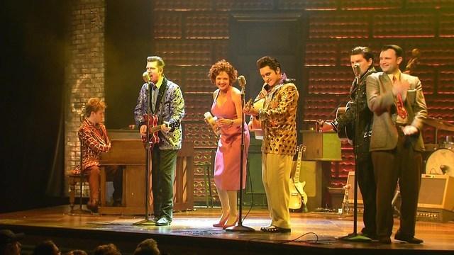 """Million Dollar Quartet"" at Harrah's in Las Vegas."