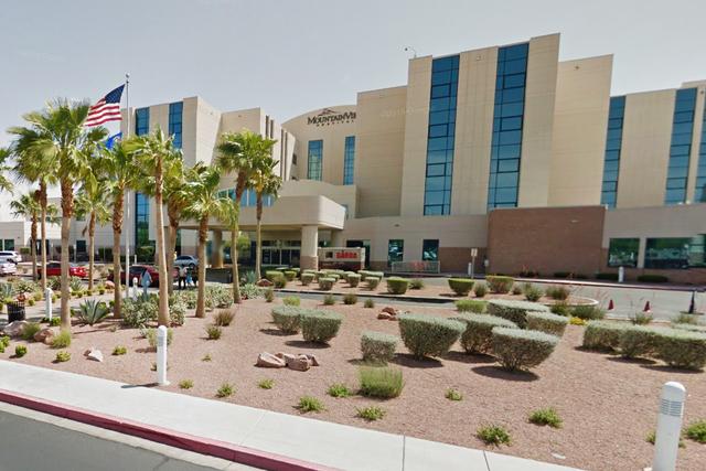 MountanView Hospital in Las Vegas. (Google Street View)