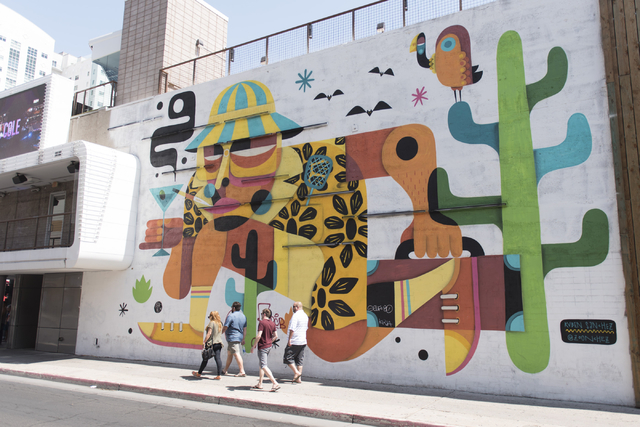 Heres a look at Life is Beautifuls murals in downtown Las Vegas
