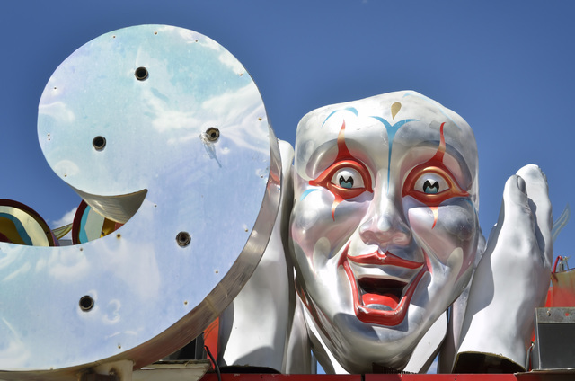 Part of the North Gallery is shown at the Neon Museum at 770 Las Vegas Blvd. North in Las Vegas on Friday, Sept. 2, 2016. Bill Hughes/Las Vegas Review-Journal