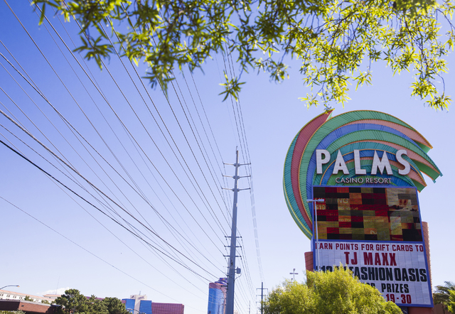 The Palms hotel-casino on Thursday, Sept. 22, 2016, in Las Vegas. Benjamin Hager/Las Vegas Review-Journal