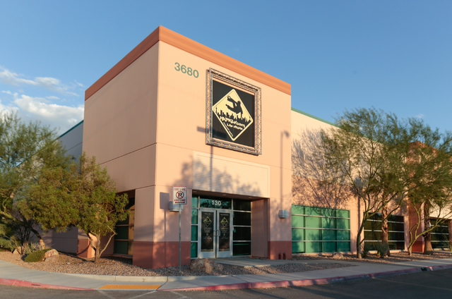 The Entry To HKPK Las Vegas Is Shown At 3680 N 5th St In