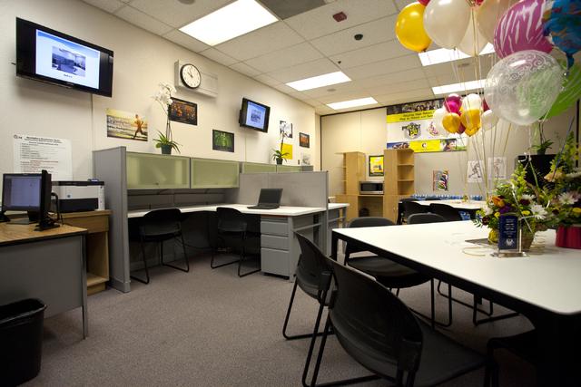 The new student center is seen at Desert Rose High School Sept. 9. Loren Townsley/View