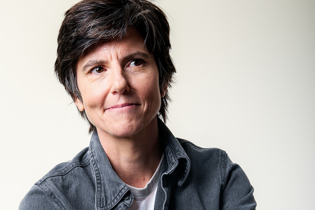 """Tig Notaro, a cast member in the Amazon series """"One Mississippi,"""" poses for a portrait during the 2016 Television Critics Association Summer Press Tour at the Beverly Hilton on S ..."""