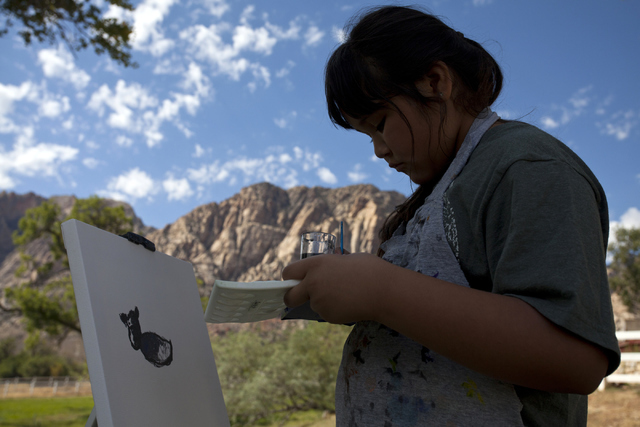 Nature Gets New Frame Of Reference During Painting With A Park