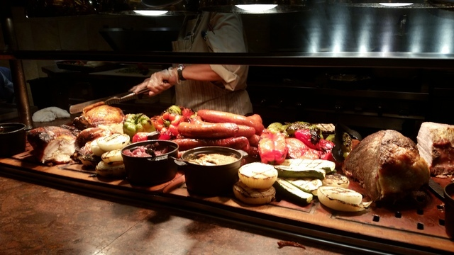 Red rock resort s feast buffet hits all the marks on