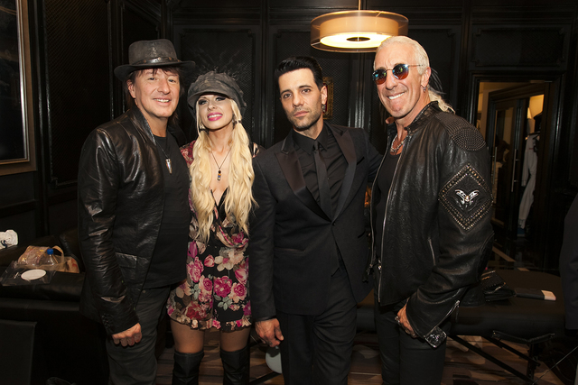Richie Sambora, Orianthi, Criss Angel and Dee Snider attend Heal Every Life Possible on Monday, Sept. 12, 2016, at The Luxor. (Jerry Metellus)