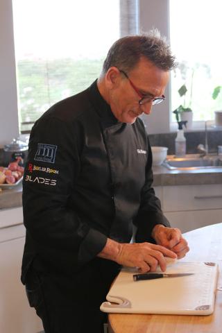 Chef Rick Moonen.