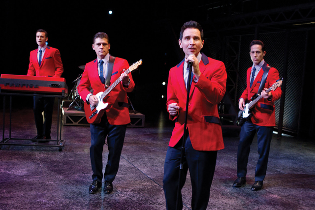 """The Las Vegas production of """"Jersey Boys"""" will take its final bow Sunday at Paris Las Vegas. (Courtesy)"""