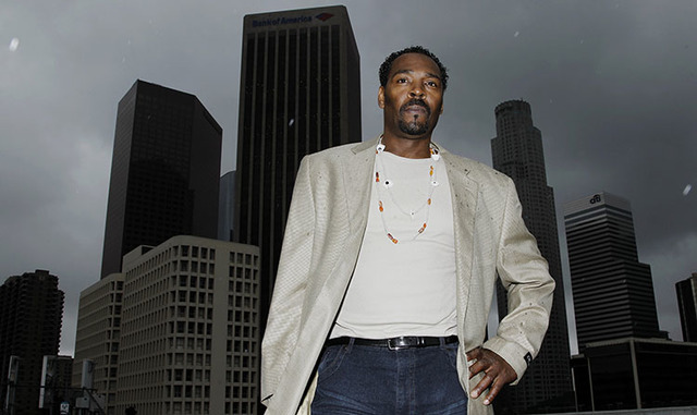 Rodney King poses for a portrait in Los Angeles in April 2012. King died two months later. (The Associated Press file)