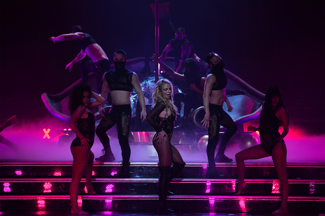 "Britney Spears' ""Piece of Me"" Feb 19 2016 (Denise Truscello)"