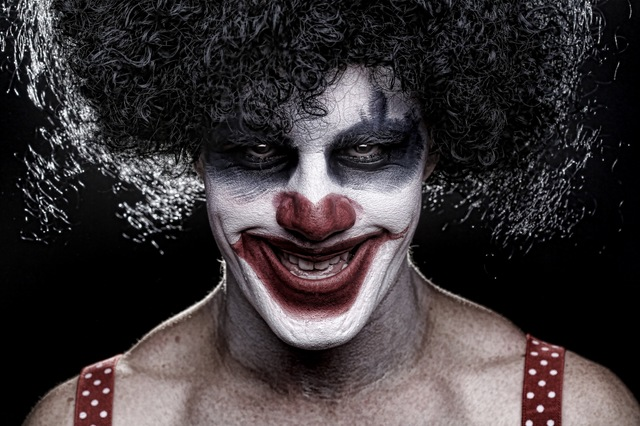 A clown is pictured in this stock image. (ThinkStock)