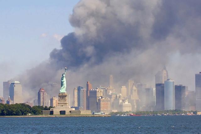 New York City on September 11, 2001 (Stuart Ramson/AP)