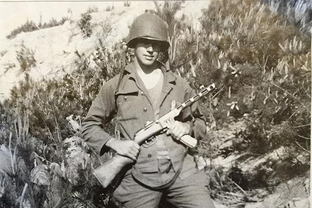 Army Korean War veteran Warren Sessler. (Courtesy Warren Sessler)