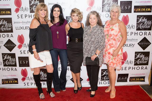 "The ""sheroes,"" from left to right: Cynthia Portaro, Mary Ricciardi, Amelia Cline-Cooper, Amy Hughes and Kathie Kurkjian."