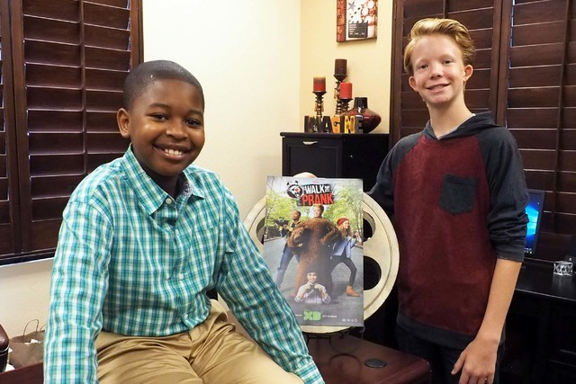local actors 12 and 14 gear up to play pranks in disney