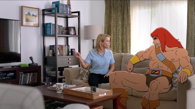 SON OF ZORN: L-R: Edie (Cheryl Hines) and Zorn (voiced by Jason Sudeikis) in SON OF ZORN premiering Sunday, Sept. 25 (8:30-9:00 PM ET/PT) on FOX. ©2016 Fox Broadcasting Co. Cr: FOX