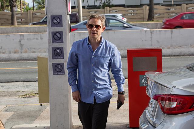 "Martin Freeman as FBI Agent Phil Rask in Crackle's ""StartUp."" (FRANCISCO ROMAN/CRACKLE)"