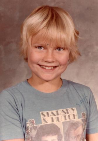 Susan Winters in Fourth grade. (Avis Winters)