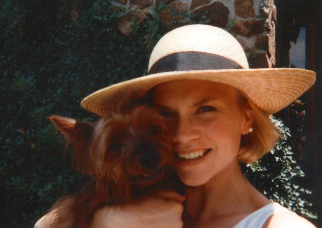 Susan Winters in Blanchard, Oklahoma, in 1993. Courtesy Avis Winters.