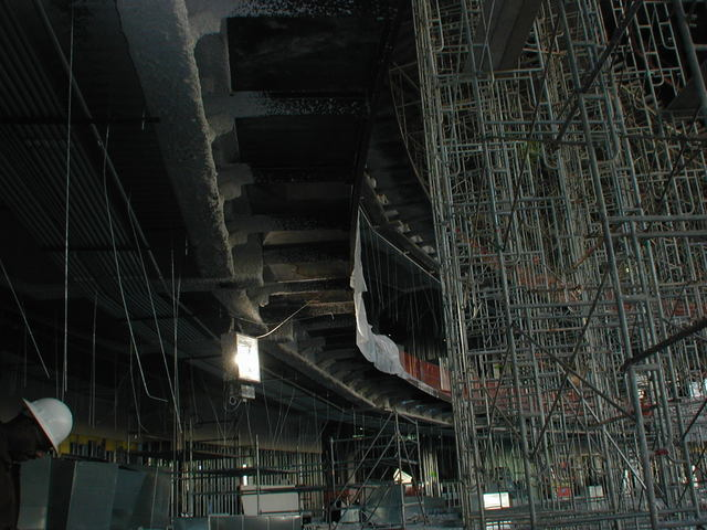 The Colosseum under construction Nov. 1, 2005, at Caesars Palace in Las Vegas. (Courtesy)