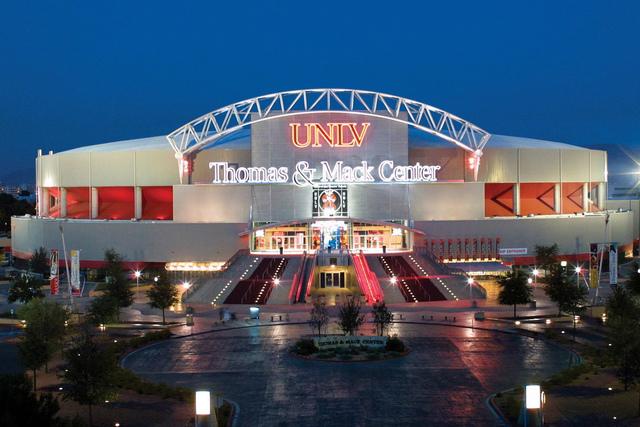 Thomas & Mack Center in Las Vegas. (UNLV/Facebook)