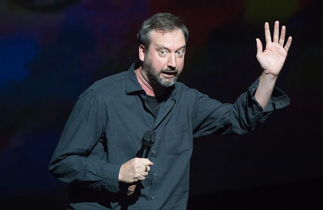 Tom Green during Heal Every Life Possible on Monday, Sept. 12, 2016, at The Luxor. (Tom Donoghue)