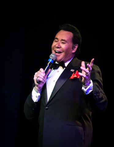 Wayne Newton was a Caesars headliner in the 1980s.