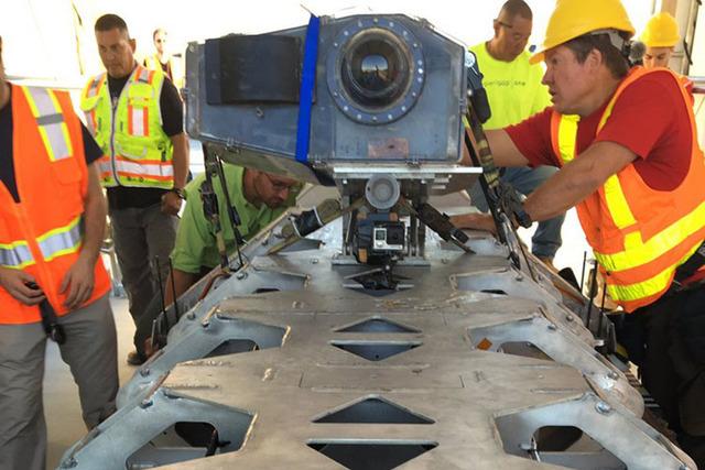 IMAX films at Hyperloop in North Las Vegas. (Hyperloop)