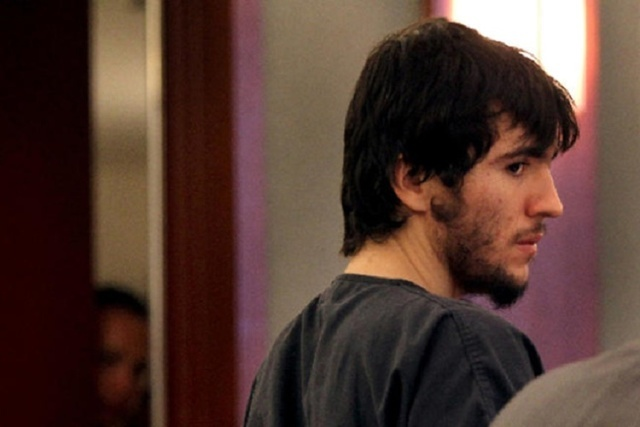 Javier Righetti appears in court in this undated file photo. (Review-Journal File)