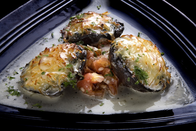 Stuffed mushrooms are shown at Don Vito's in South Point in 2014. View file photo