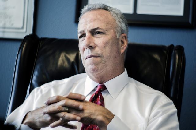 District Attorney Steve Wolfson  (Jeff Scheid/Las Vegas Review-Journal Follow @jlscheid)