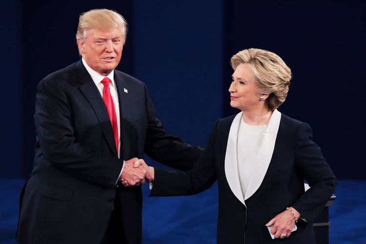 Trump, Clinton Spar Over Clinton's Emails (The Associated Press)