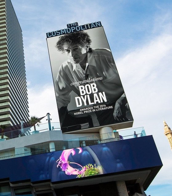 Bob Dylan headlines at The Chelsea in The Cosmopolitan of Las Vegas on Thursday, Oct. 13, 2016. (Erik Kabik)