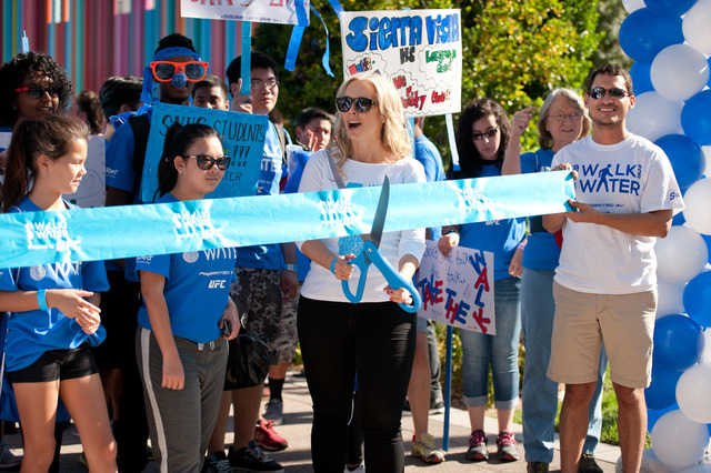 One Drop Walk for Water in 2014 in Las Vegas. (Cashman Photo)
