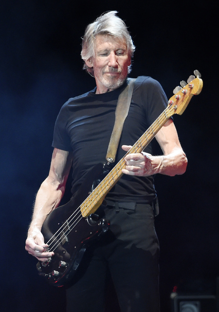 Roger Waters performs on day 3 of the 2016 Desert Trip music festival at Empire Polo Field on Sunday, Oct. 9, 2016, in Indio, California. (Chris Pizzello/AP)