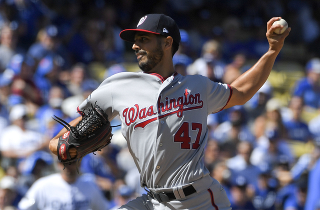 Nationals beat Dodgers in NLDS Game 3, take 2-1 lead in