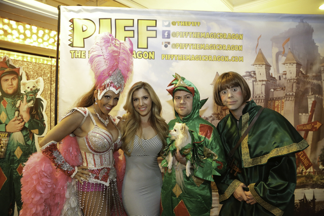 The first anniversary of Piff the Magic Dragon on Wednesday, Oct. 5, 2016, at Flamingo Las Vegas.