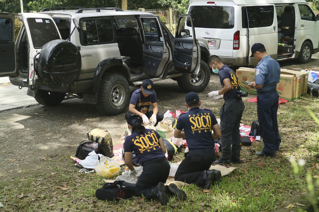 Philippine police say Mayor Samsudin Dimaukom of southern Datu Saudi Ampatuan township and nine others were killed before dawn in a gunbattle with anti-narcotics officers in one of the deadliest o ...