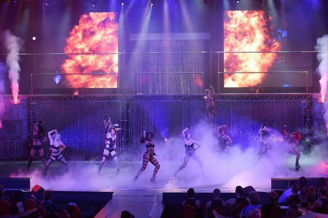 "Opening night of ""Cherry Boom Boom"" at The Tropicana Sept. 29. (Sam Morris/Las Vegas News Bureau)"