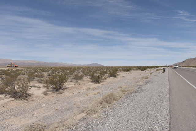 Land near Interstate 15 is seen in this file photo. (Jason Ogulnik/Las Vegas Review-Journal)