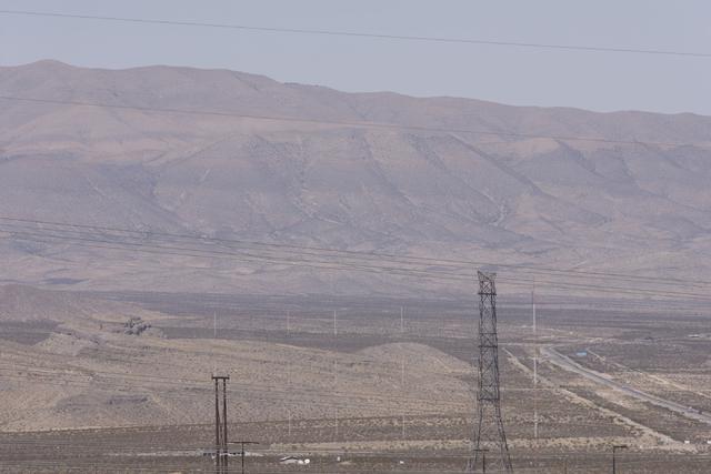 Apex Industrial Park near U.S. 93 and Interstate 15 in North Las Vegas is seen, Wednesday, Oct. 12, 2016. Jason Ogulnik/Las Vegas Review-Journal