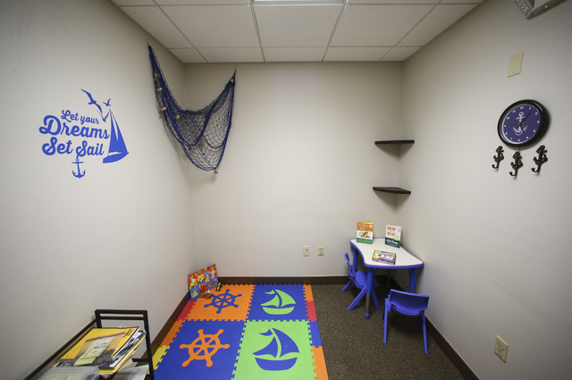 A Room In The UNLV Medicine Ackerman Center For Autism And Neurodevelopment  Solutions Is Shown In