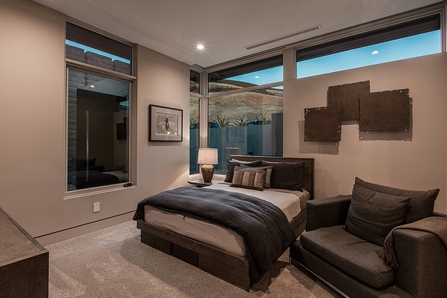 A guest bedroom. (Courtesy)