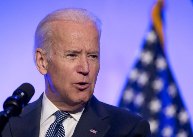 Vice President Joe Biden speaks at the 2016 Health Datapalooza's annual national conference in Washington, Monday, May 9, 2016. (Manuel Balce Ceneta/AP)