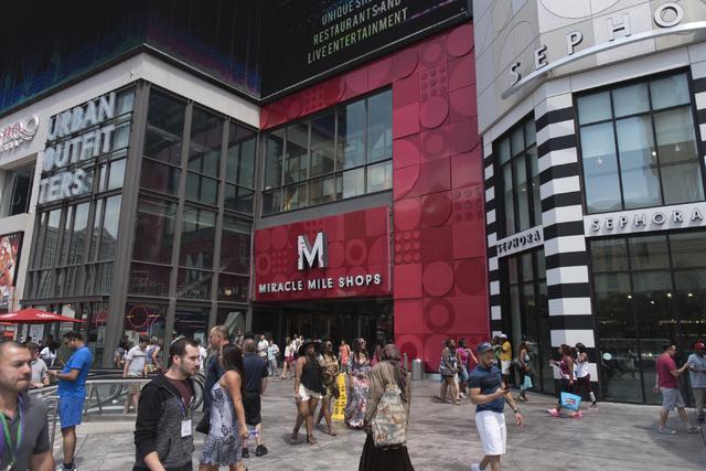ec33f7d00e38e Miracle Mile Shops on Las Vegas Strip sold to investment partnership ...