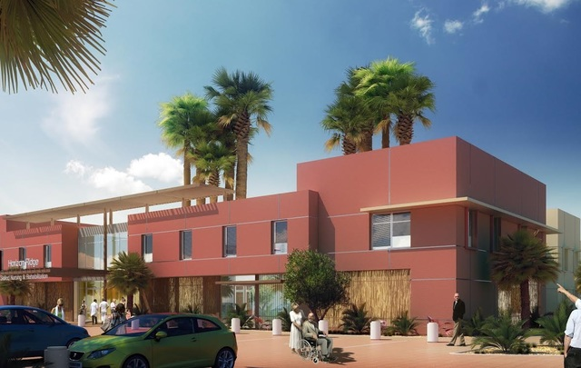 The Calida Group is developing a skilled-nursing center at 2855 W. Horizon Ridge Parkway near Coronado Center Drive in Henderson. (Calida Group)